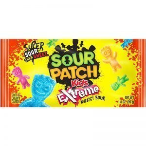 "Godis ""Sour Patch Extreme"" 56g - 76% rabatt"