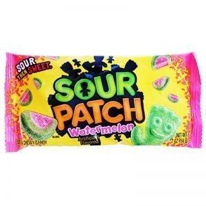 "Godis ""Sour Patch Watermelon"" 56g - 50% rabatt"