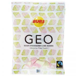 "Godis ""Sour Strawberry & Lime Rombs"" 90g - 53% rabatt"