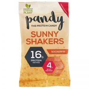 """Godis """"Sunny Shakers"""" Sockerfri 70g - 60% rabatt"""