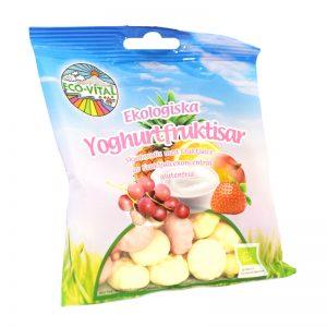 """Godis """"Yoghurtfruktisar"""" 90g - 36% rabatt"""