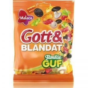 """Gott & Blandat """"Familie GUF"""" 140g - 31% rabatt"""