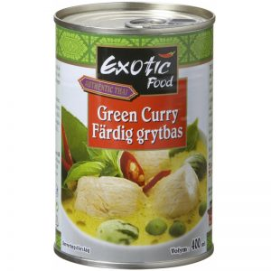 Grytbas Grön Curry 400ml - 61% rabatt