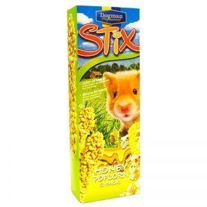 Hamsterfoder Honey & Popcorn - 53% rabatt