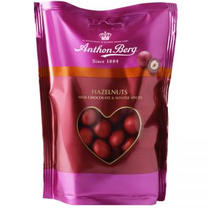 "Hasselnötter ""Milk Chocolate & Winter Spices"" 120g - 30% rabatt"