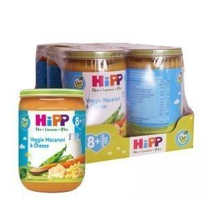 Hel Låda Barnmat Veggie Macaroni & Cheese 6 x 220g - 40% rabatt