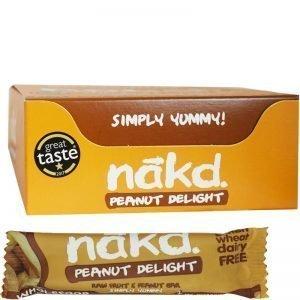 """Hel Låda Bars """"Peanut Delight"""" 18 x 35g - 76% rabatt"""