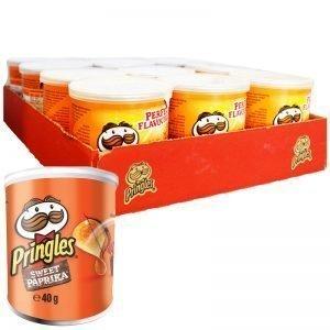 "Hel Låda Chips ""Sweet Paprika"" 12 x 40g - 34% rabatt"