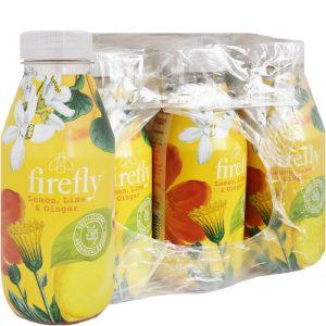 """Hel Låda Dryck """"Lemon, Lime & Ginger"""" 12 x 400ml - 89% rabatt"""