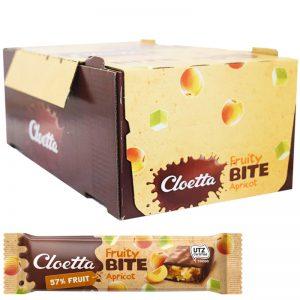 "Hel Låda Frukt-, Müsli- & Chokladbars ""Apricot"" 35 x 30g - 67% rabatt"