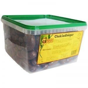 Hel Låda Godis Chokladbågar 1,5kg - 38% rabatt