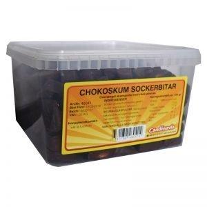 "Hel Låda Godis ""Chokoskum sockerbitar"" 1kg - 31% rabatt"