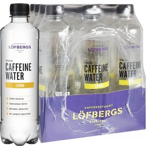 Hel Låda Koffeinvatten Citron 12 x 500ml - 50% rabatt