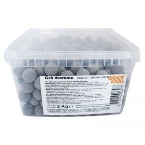 Hel Låda Lakritskulor 2kg - 61% rabatt