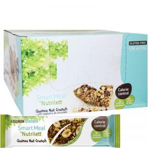 """Hel Låda Mealbars """"Quinoa & Nut Crunch"""" 15 x 56g - 33% rabatt"""