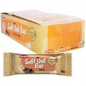 "Hel Låda Oat Bars ""Cocoa"" 18 x 30g - 54% rabatt"