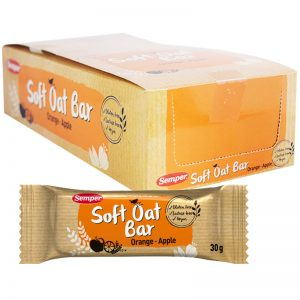 "Hel Låda Oat Bars ""Orange & Apple"" 18 x 30g - 54% rabatt"