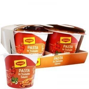 Hel Låda Pasta & Tomatsås 8 x 60g - 55% rabatt