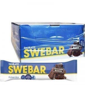 "Hel Låda Proteinbars ""Chocolate Brownie"" 18 x 50g - 50% rabatt"
