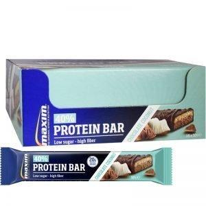 "Hel Låda Proteinbars ""Chocolate & Coconut"" 18 x 50g - 52% rabatt"