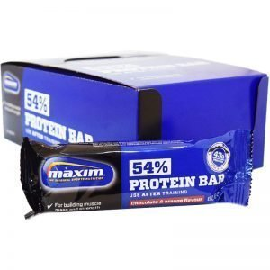 "Hel Låda Proteinbars ""Chocolate & Orange"" 20 x 80g - 71% rabatt"