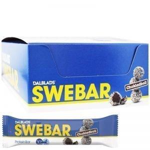 Hel Låda Proteinbars Chokladboll 20 x 55g - 36% rabatt