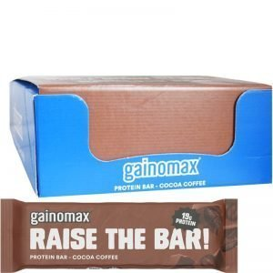 """Hel Låda Proteinbars """"Cocoa Coffee"""" 15 x 60g - 60% rabatt"""