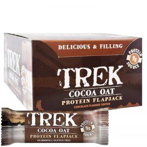 "Hel Låda Proteinbars ""Cocoa Oat"" 16 x 50g - 40% rabatt"