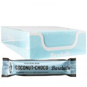 "Hel Låda Proteinbars ""Coconut Choco"" 12 x 55g - 70% rabatt"
