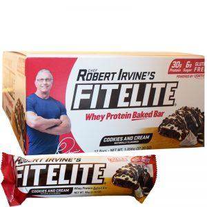 """Hel Låda Proteinbars """"Cookies & Cream"""" 12 x 88g - 46% rabatt"""