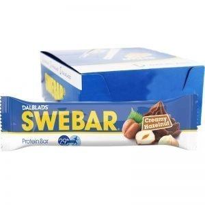 "Hel Låda Proteinbars ""Creamy Hazelnut"" 20 x 55g - 47% rabatt"