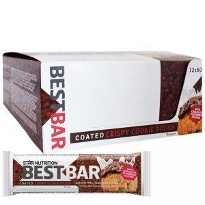 """Hel Låda Proteinbars """"Crispy Cookie Dough"""" 12 x 60g - 39% rabatt"""
