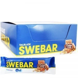"Hel Låda Proteinbars ""Fudge Crisp"" 20 x 55g - 33% rabatt"