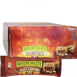 "Hel Låda Proteinbars ""Sweet & Salty Nut"" 18 x 30g - 29% rabatt"