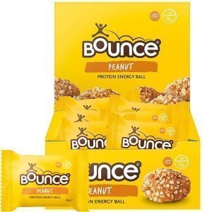 "Hel Låda Proteinbollar ""Peanut Energy"" 12 x 45g - 50% rabatt"