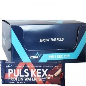 "Hel Låda Proteinkex ""Chocolate & Nuts"" 20 x 40g - 55% rabatt"