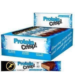 "Hel Låda Proteinkex ""Creamy Chocolate"" 24 x 20g - 32% rabatt"