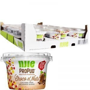 "Hel Låda Proteinpudding ""Choco & Nuts"" 12 x 200g - 58% rabatt"