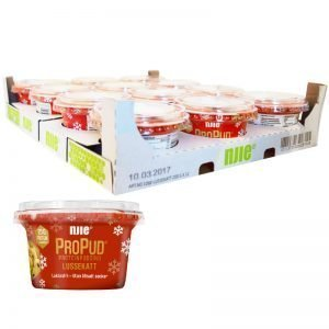 Hel Låda Proteinpudding Lussekatt 12 x 200g - 28% rabatt