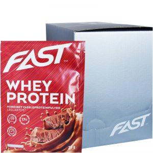Hel Låda Proteinpulver Choklad 20 x 25g - 80% rabatt