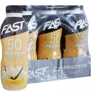 Hel Låda Proteinshake Vanilj 12 x 500ml - 76% rabatt