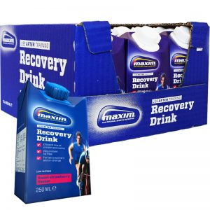 "Hel Låda ""Recovery Drink"" Jordgubb 15 x 250ml - 73% rabatt"