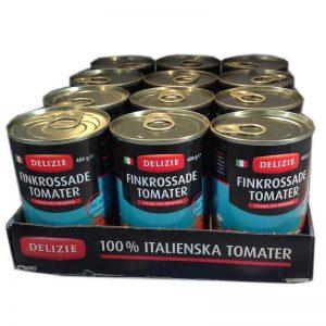 Hel låda- finkrossade tomater i burk - 61% rabatt