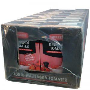 Hel låda- krossade tomater - 60% rabatt