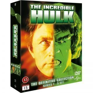 Incredible Hulk Complete Series DVD - 20% rabatt
