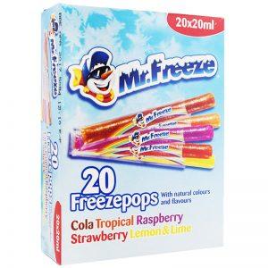 "Islgassar ""Freezepops"" 20 x 20ml - 72% rabatt"