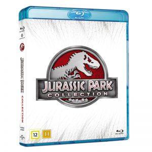 Jurassic Park 1-4 Blu-Ray - 28% rabatt