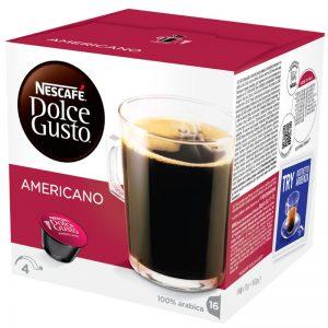 "Kaffekapslar ""Americano"" 16 x 10g - 26% rabatt"