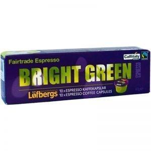 """Kaffekapslar Espresso """"Bright Green"""" - 50% rabatt"""