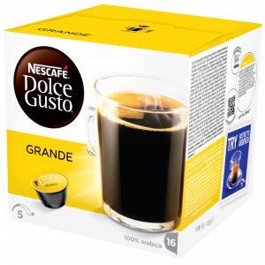 """Kaffekapslar """"Grande"""" 16 x 8g - 36% rabatt"""